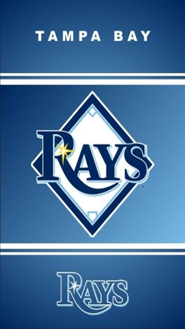 Tampa Bay Rays 2 LOGO iPhone Wallpapers iPhone 5s4s3G 640x1136