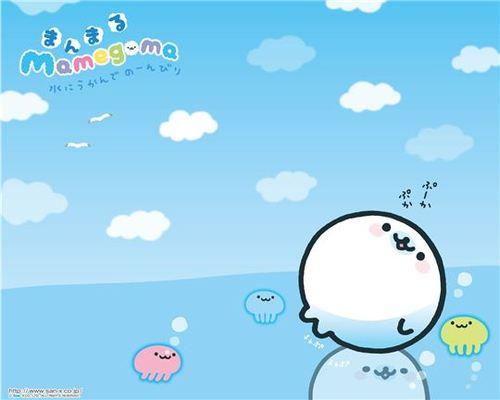 Cute Mamegoma Wallpaper   Cute Kawaii Blog everything kawaii cute 500x400