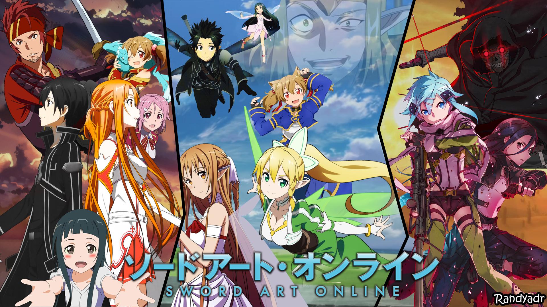 Free Download Sword Art Online Wallpaper Attempt By Randyadr Fan Art Manga Anime 1920x1080 For Your Desktop Mobile Tablet Explore 48 Sword Art Online 2 Wallpaper Sword Art Online