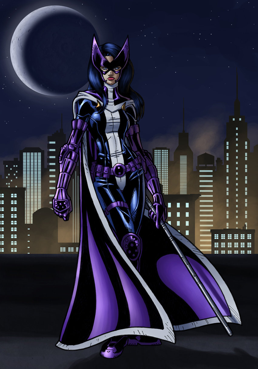 huntress colored by JamieFayX 851x1213