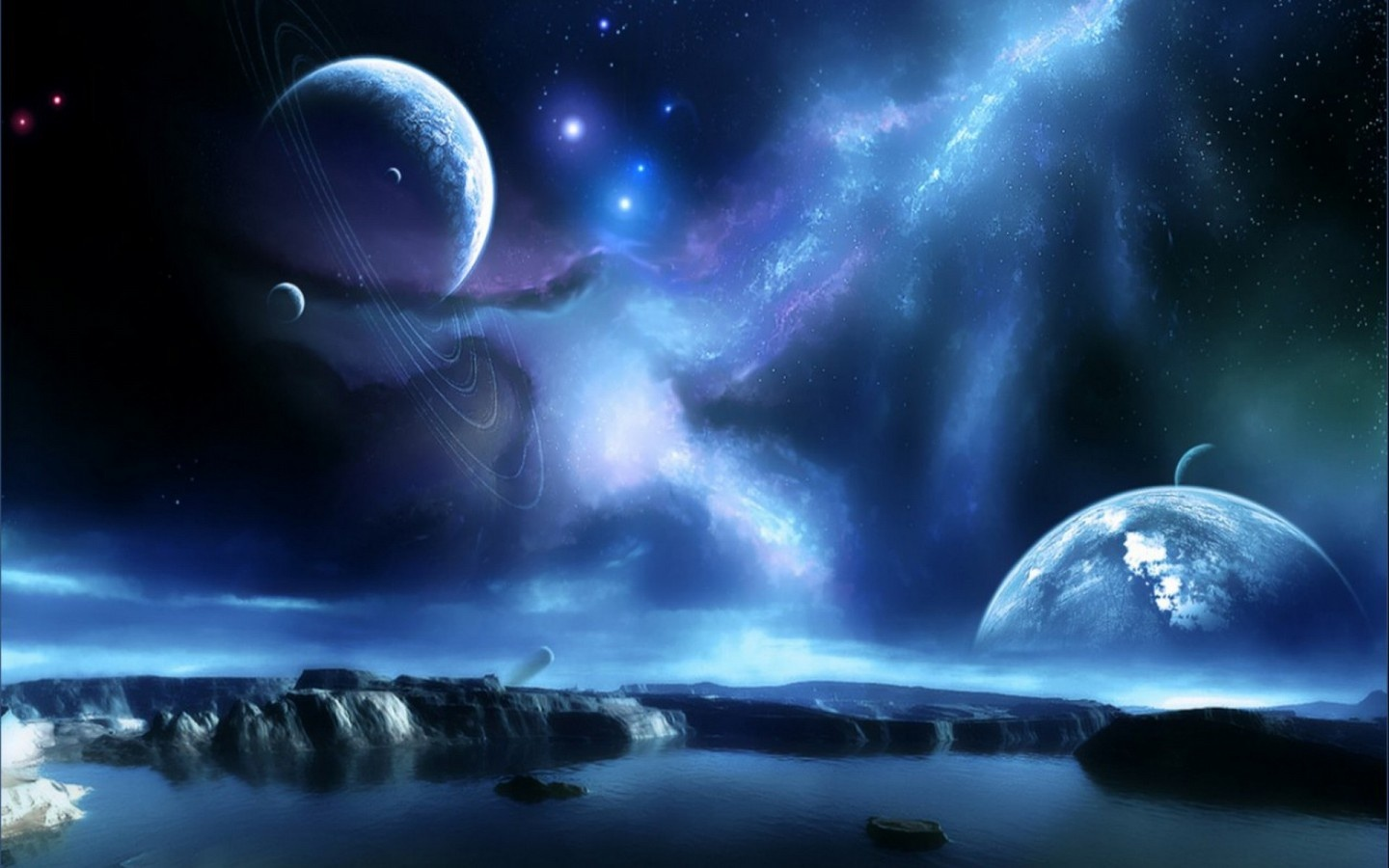 Space Wallpapers High Resolution 1440x900 pixel Space HD Wallpaper 1440x900