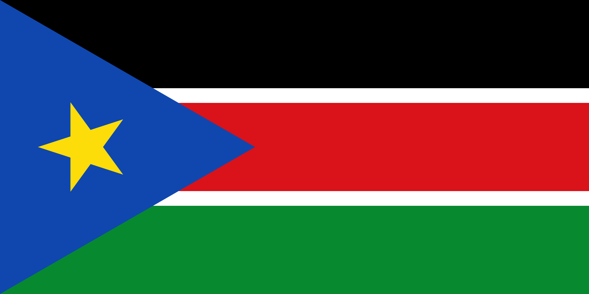 South Sudan Country Flag Wallpaper PaperPull 2000x1000