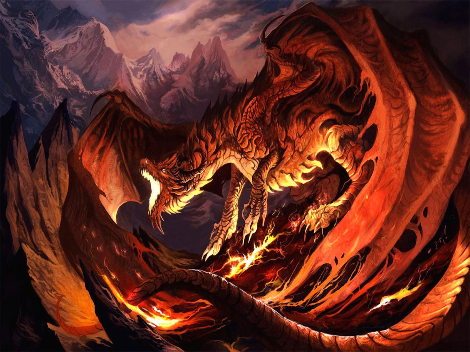 Fire Dragon Wallpaper 1600x1200