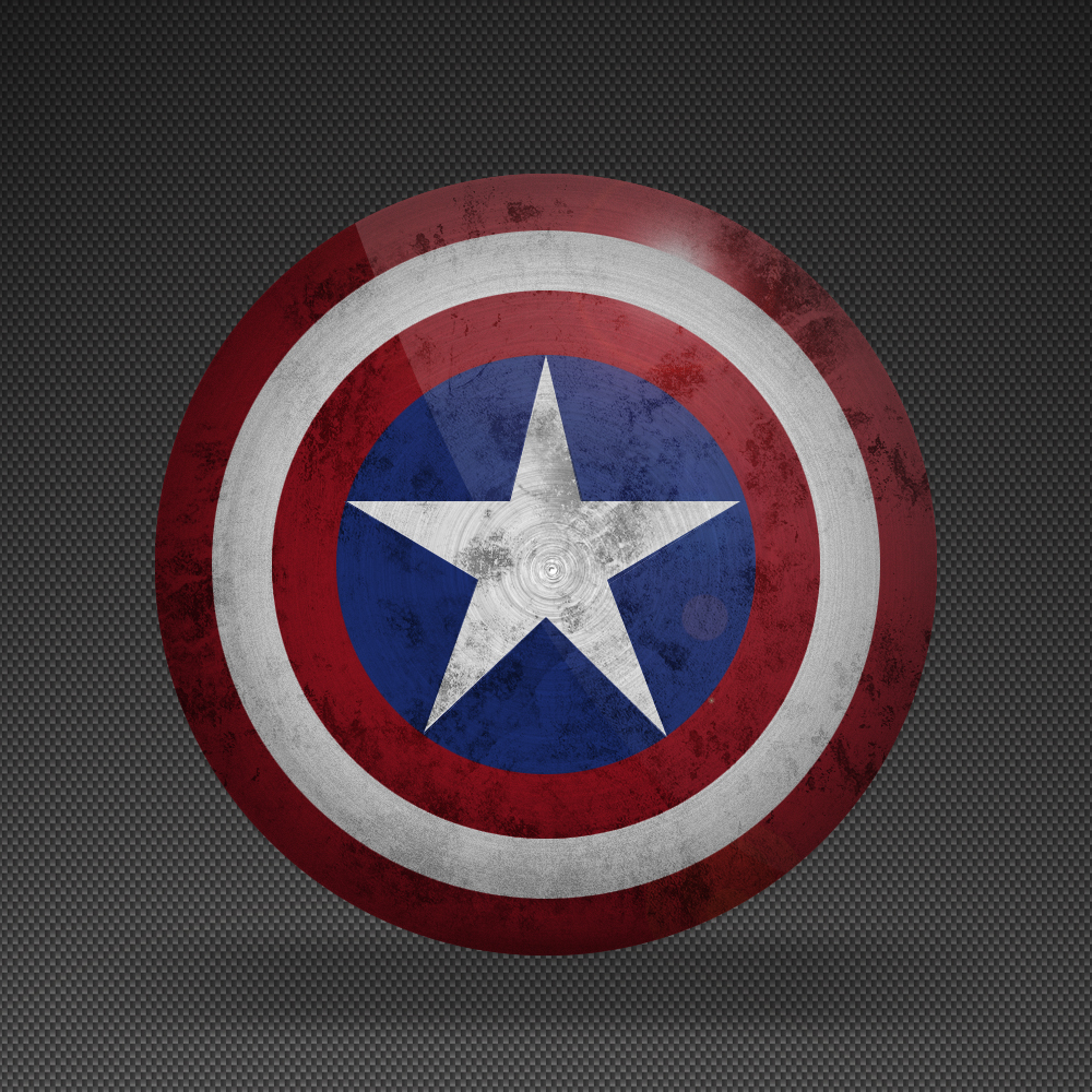 Captain America Shield Iphone Wallpaper Captain america   version 2 1000x1000