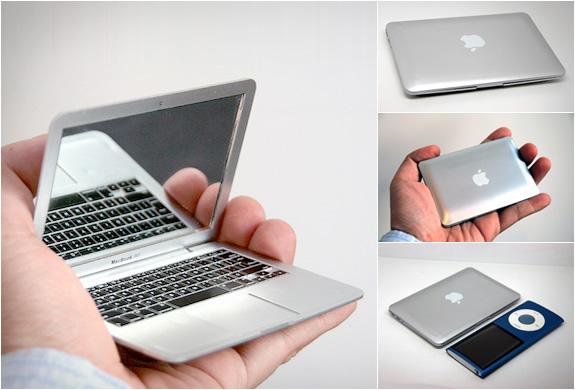 Macbook Air Mirror Looks Like a Tiny Laptop Beautiful World 575x390