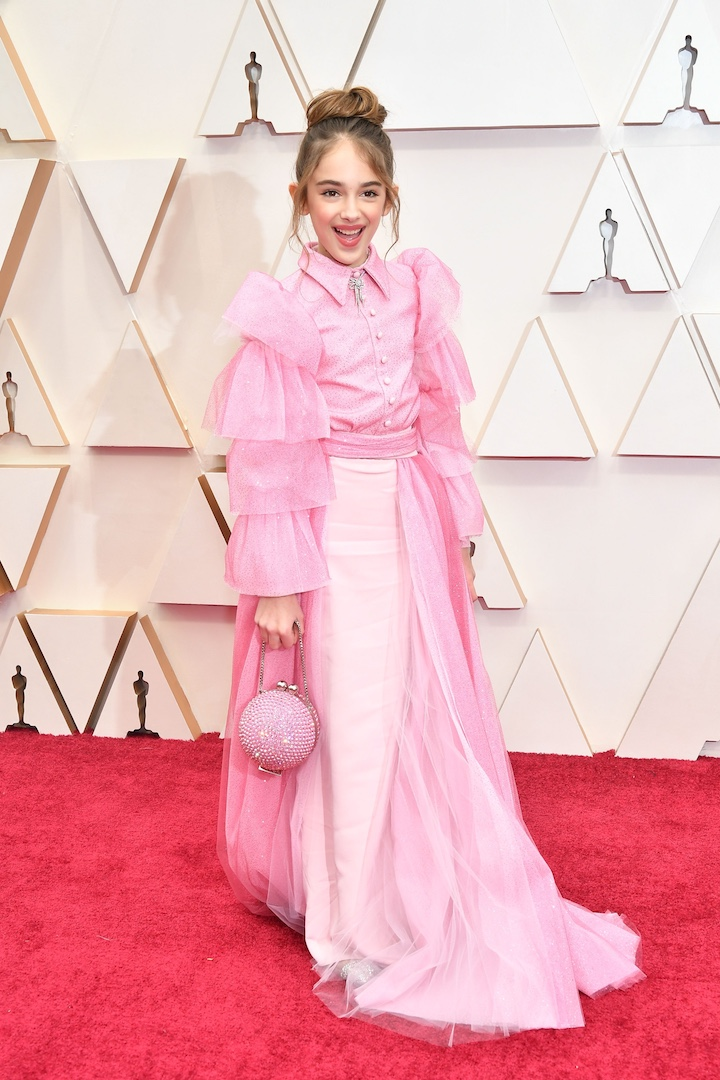 PHOTOS Oscars 2020 red carpet fashion stars arrive at 92nd 720x1080