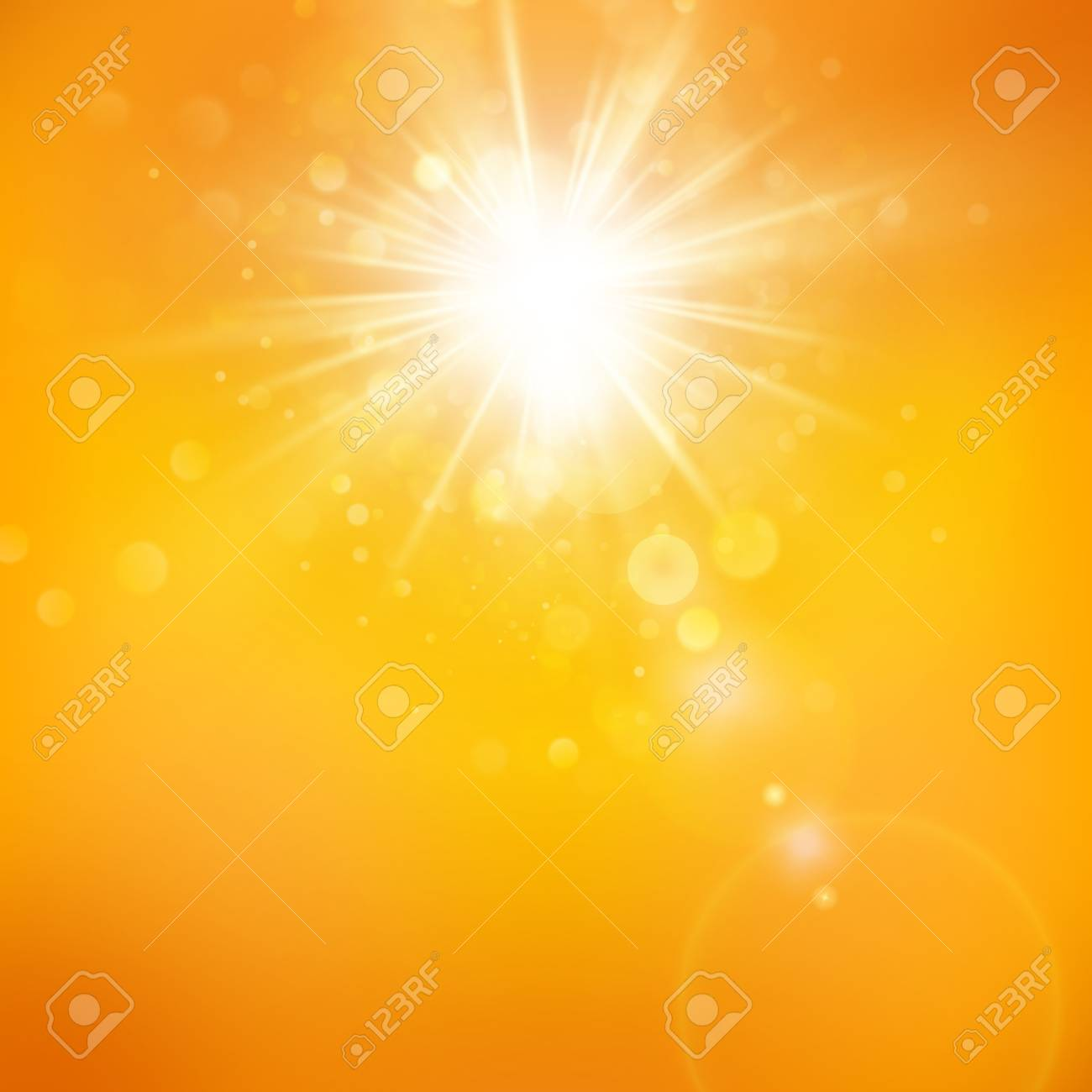 Enjoy The Sunshine Warm Day Light Summer Background With A 1300x1300