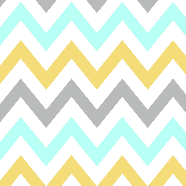 BLUEGRAYYELLOW CHEVRON Art Print by Natalie Sales Society6 600x600