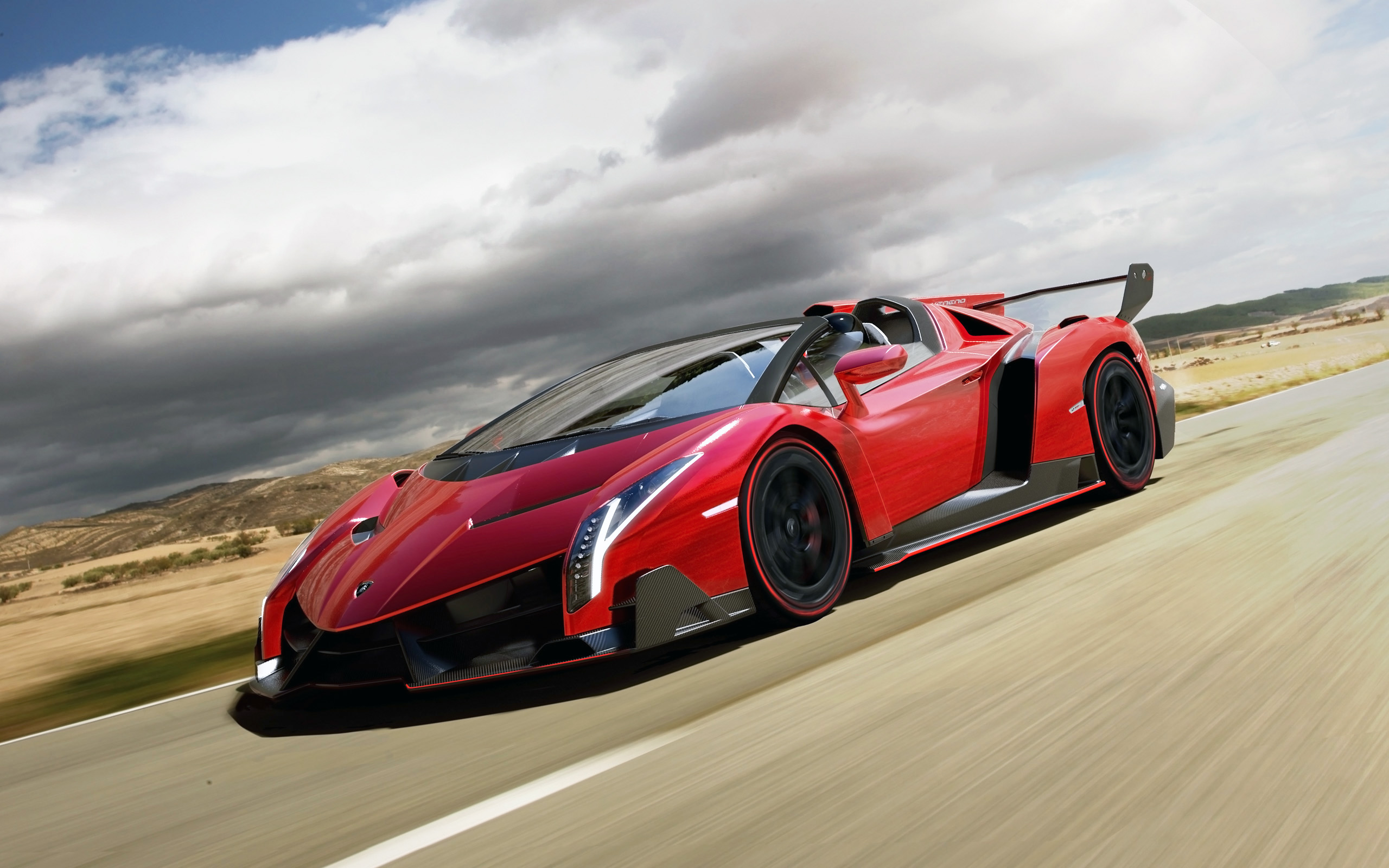 2014 Lamborghini Veneno Roadster Wallpaper HD Car Wallpapers 2560x1600