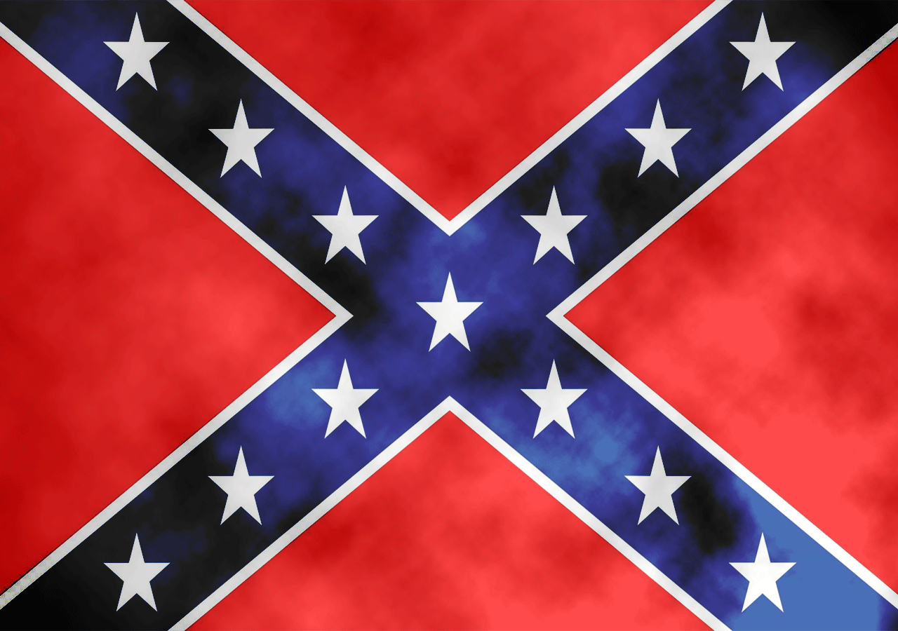 Confederate Rebel Flag Desktop 1280x900