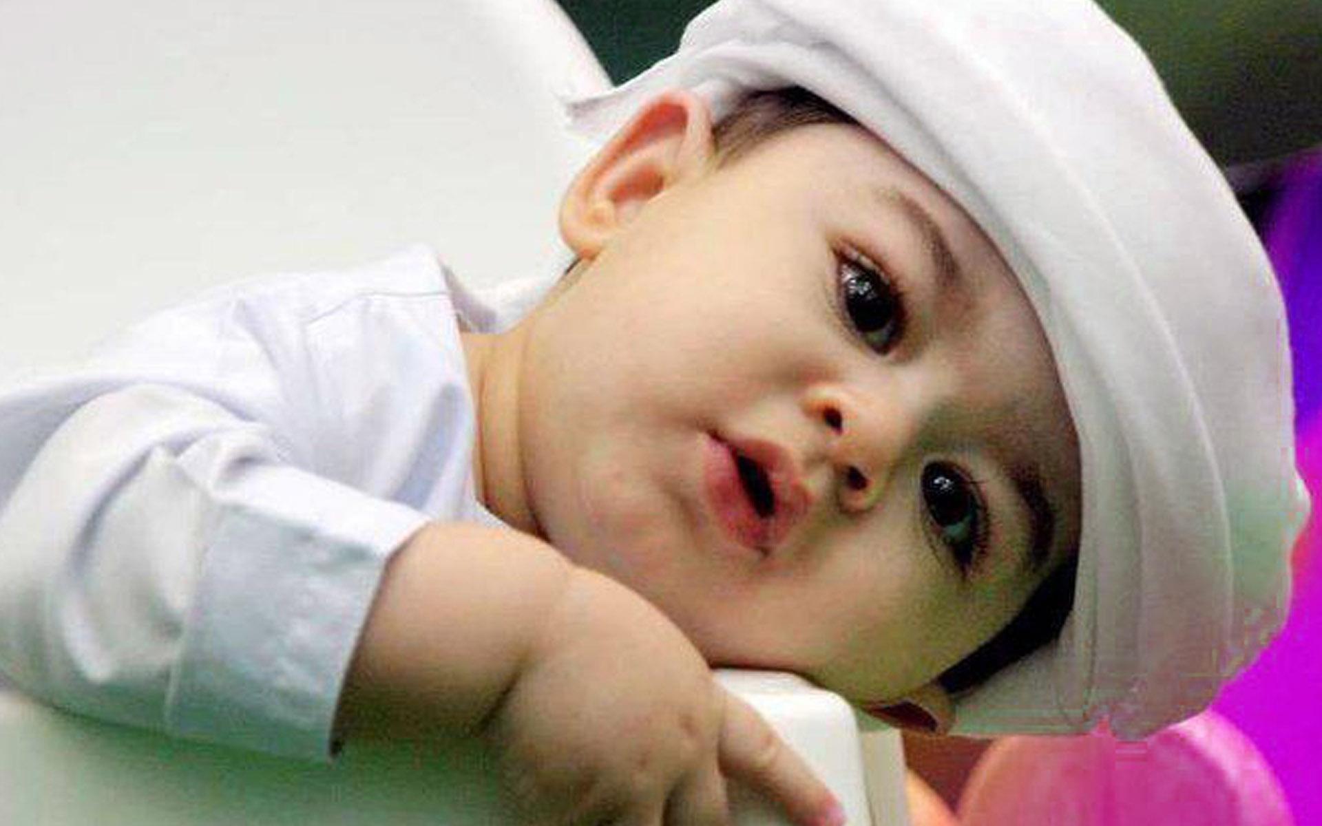 Cute Baby Boy Muslim HD Wallpaper For Desktop Background 1920x1200