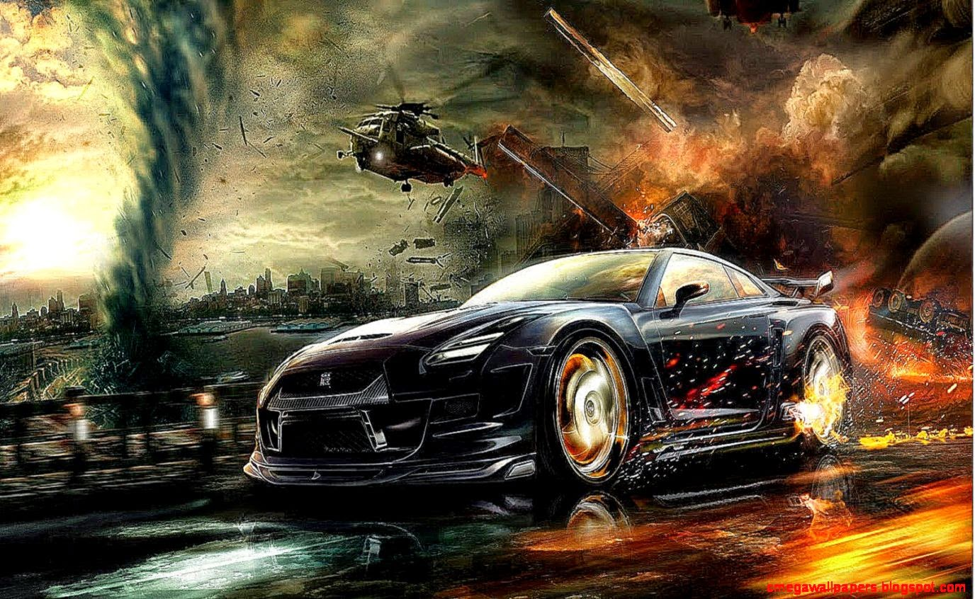 Cool 3d Car Wallpaper Wallpapersafari