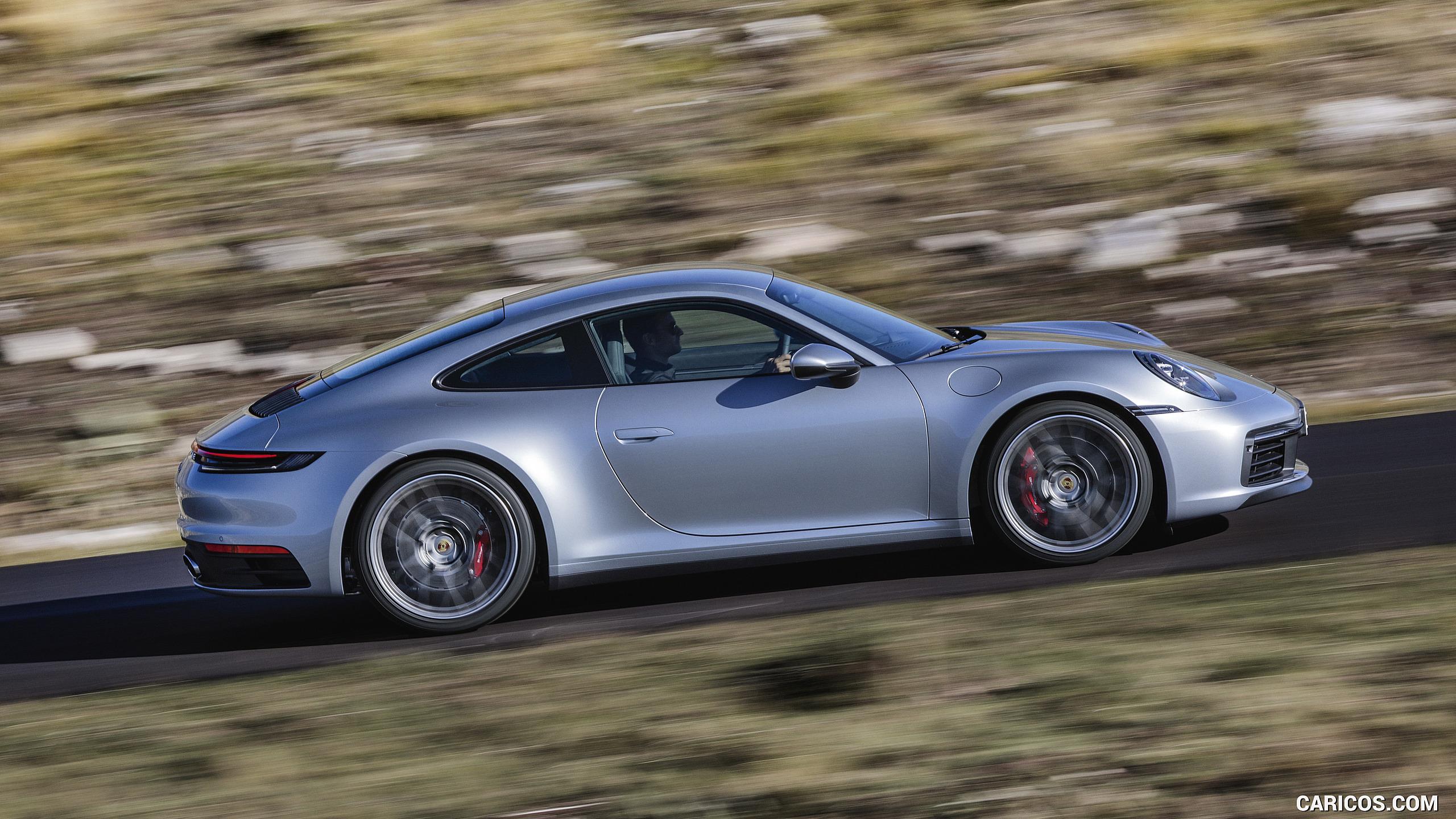 2020 Porsche 911 Carrera 4S   Side HD Wallpaper 5 2560x1440