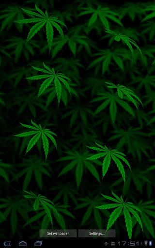 Animated Marijuana Wallpaper