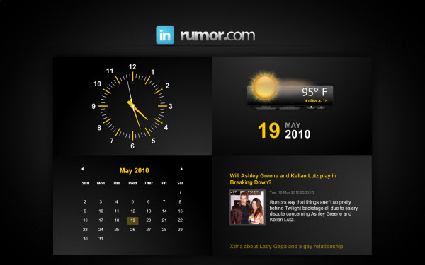 Download 10 Animated Clock Screensavers For Windows and Mac 600x375