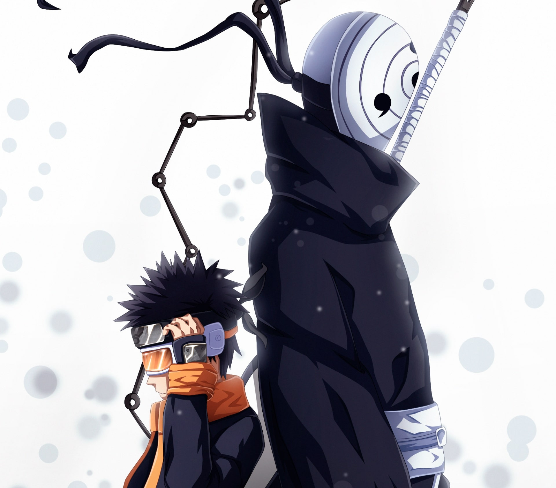 Wallpaper of Anime Naruto Obito Uchiha background HD image 1920x1688