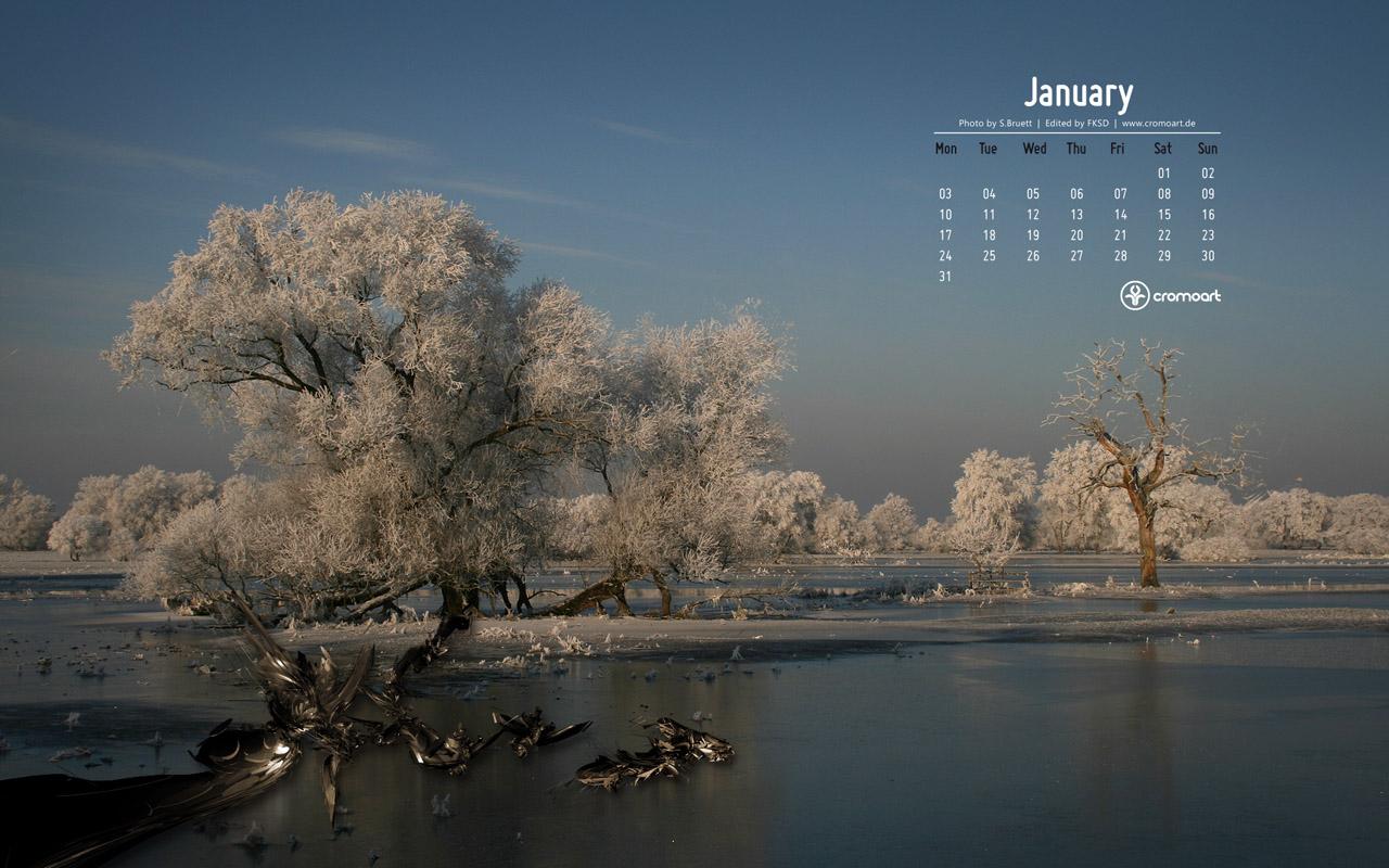 January 2016 Calendar Desktop Wallpaper 2016 Happy Holidays Day 2016 1280x800