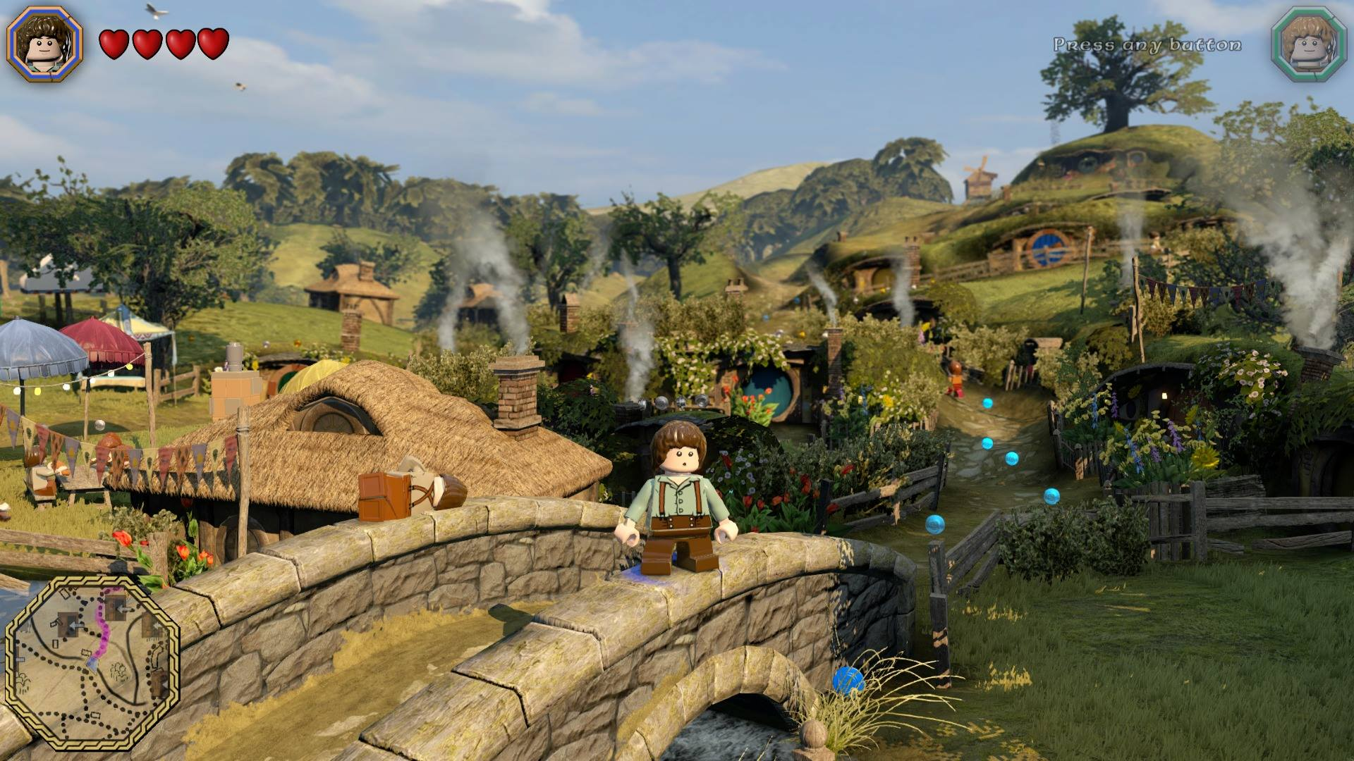 Lego The Hobbit Review Travellers Treasure or Witless Worm Video 1920x1080