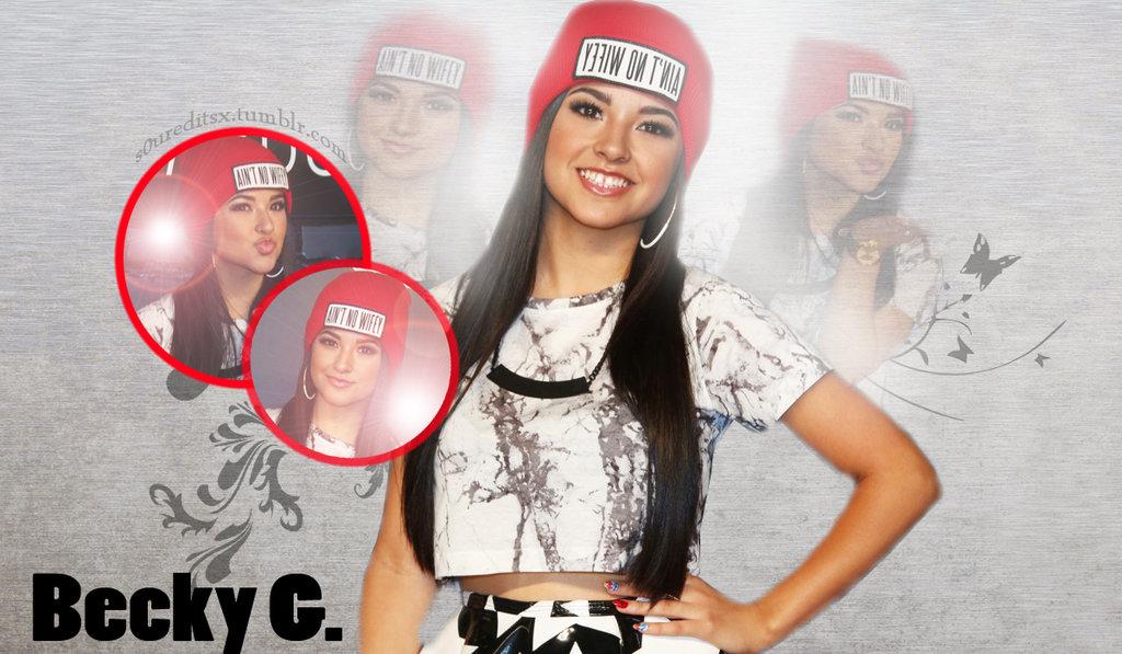 Becky G Wallpaper by dinos0urx on deviantART 1024x597