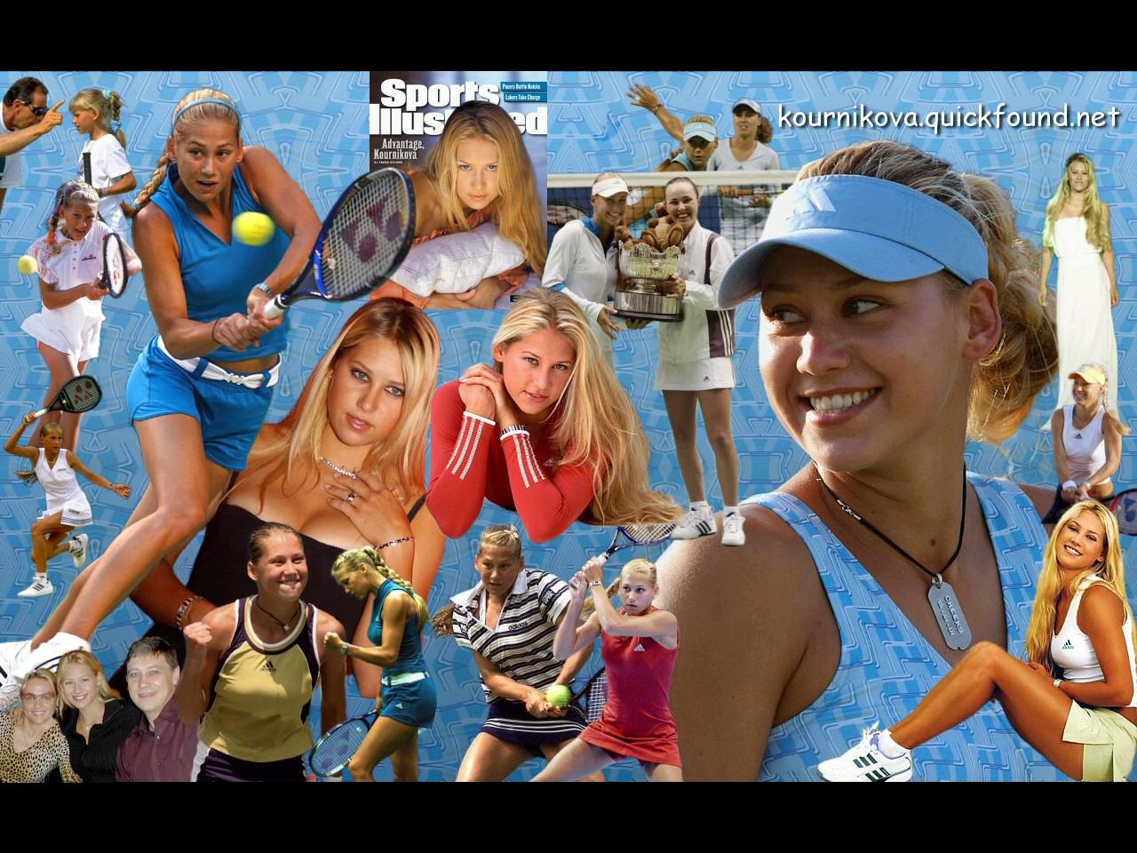 Anna Kournikova Wallpaper QuickSports 1280x960