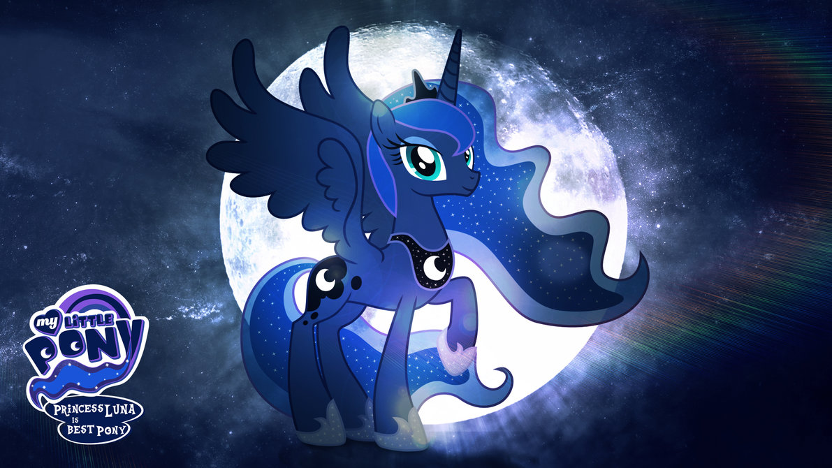 Princess Luna Wallpaper HD - WallpaperSafari