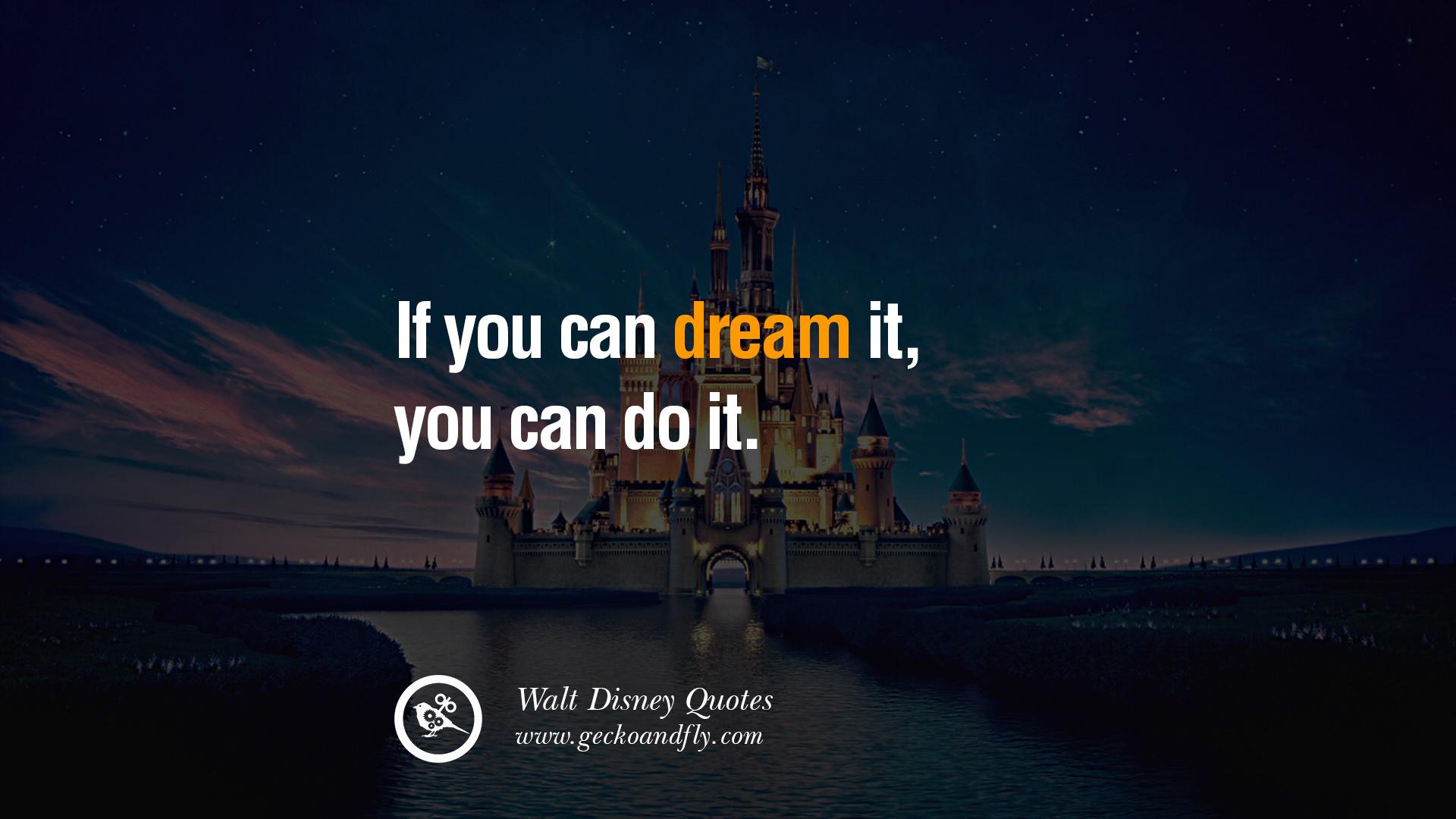 Walt Disney Quotes Wallpaper 1920x1080
