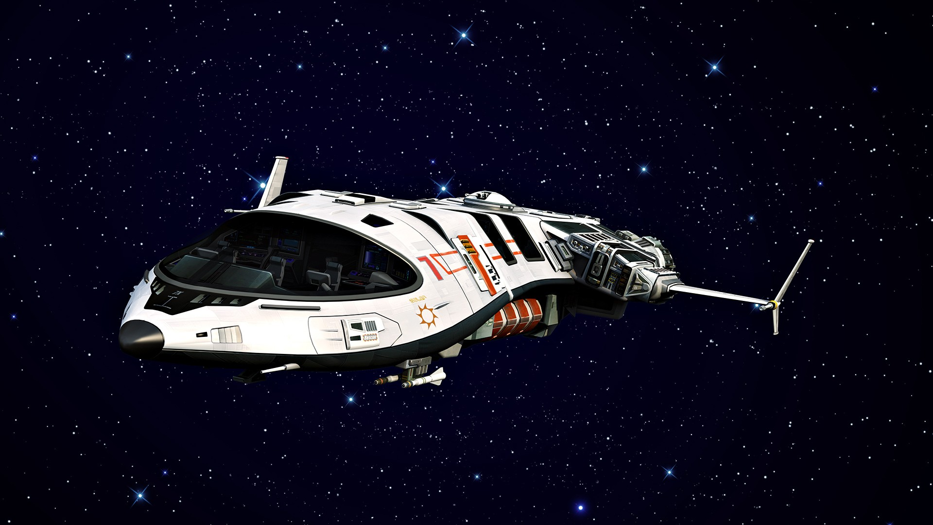 Spaceships In Space wallpaper 226635 1920x1080