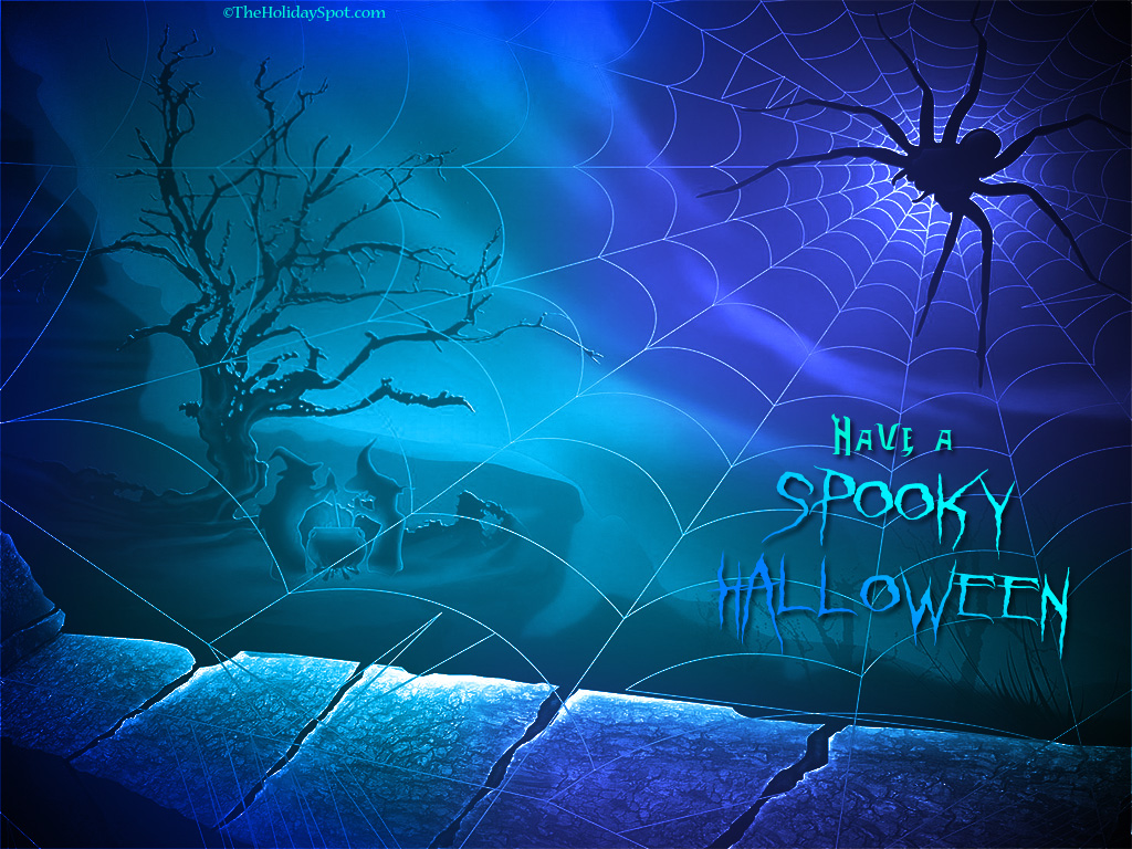 trololo blogg Scary Halloween Wallpaper 1024x768