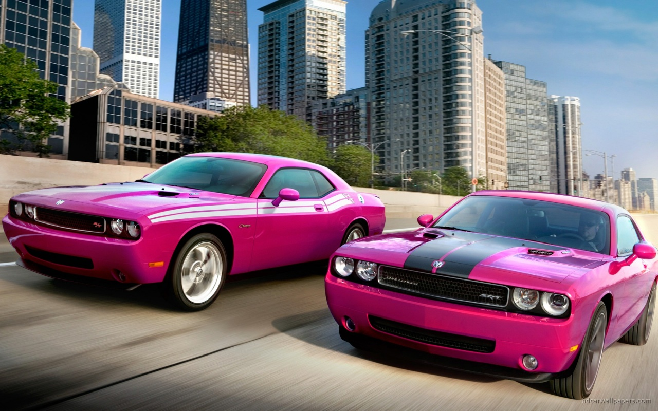 Dodge Challengers RT SRT8 Wallpaper HD Car Wallpapers 1280x800