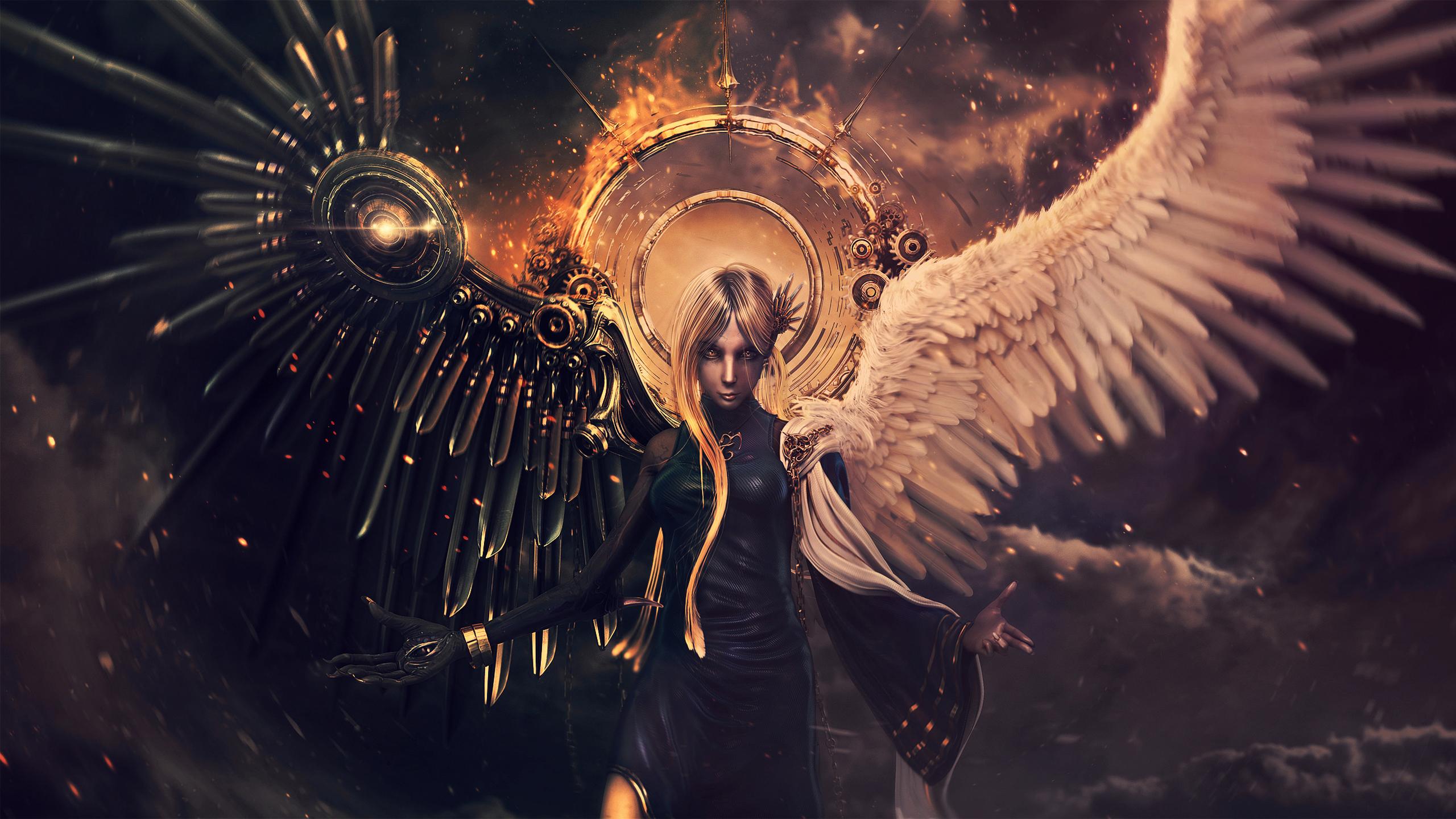 картинки ангелов и демонов картинки