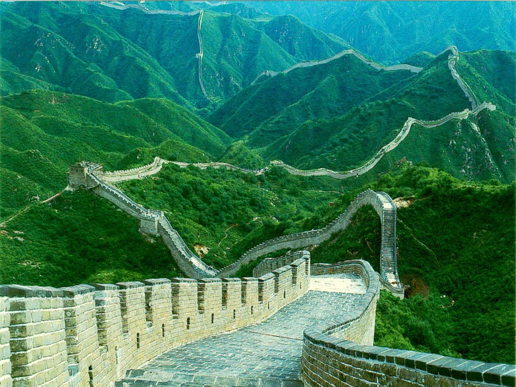 great wall of china wallpaper you are viewing the nature wallpaper 1024x768