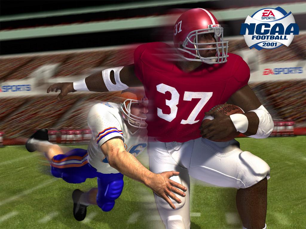 NCAA Football 2001 1024x768