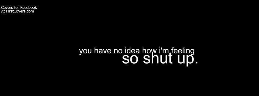 Shut Up Cover 850x315