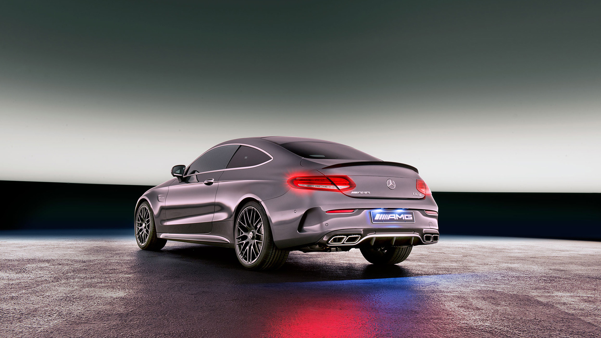 2017 Mercedes Benz C63 AMG Coupe wallpaper Unusual