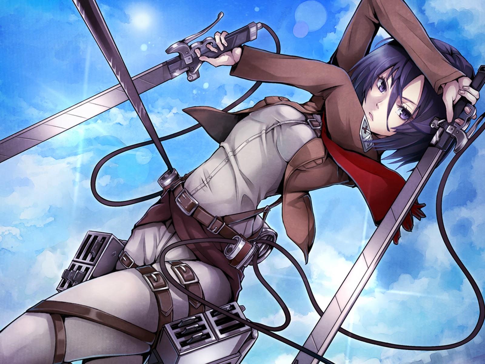 Attack on Titan Mikasa Anime Picture 74 HD Wallpaper 1600x1200