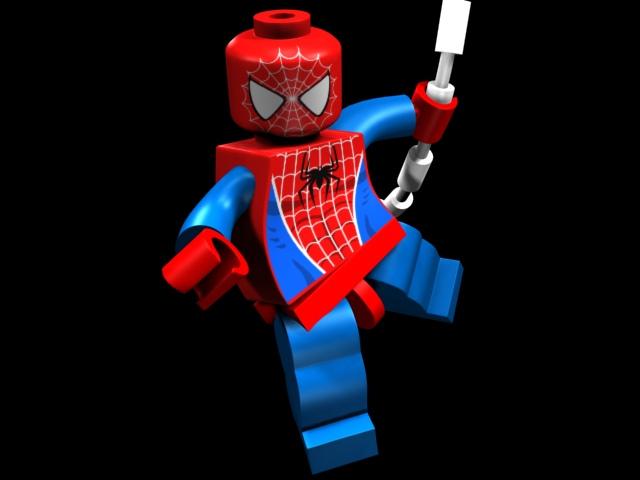 Как сделать лего человека паука своими руками