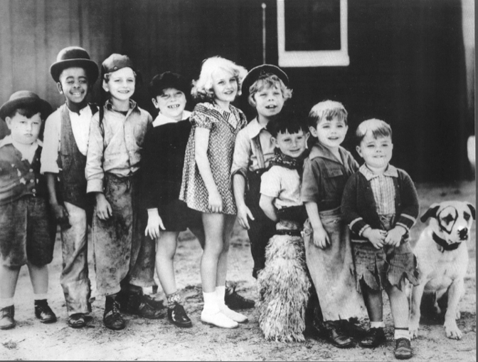 Our Gang Comedy Team in 1930s 672x508