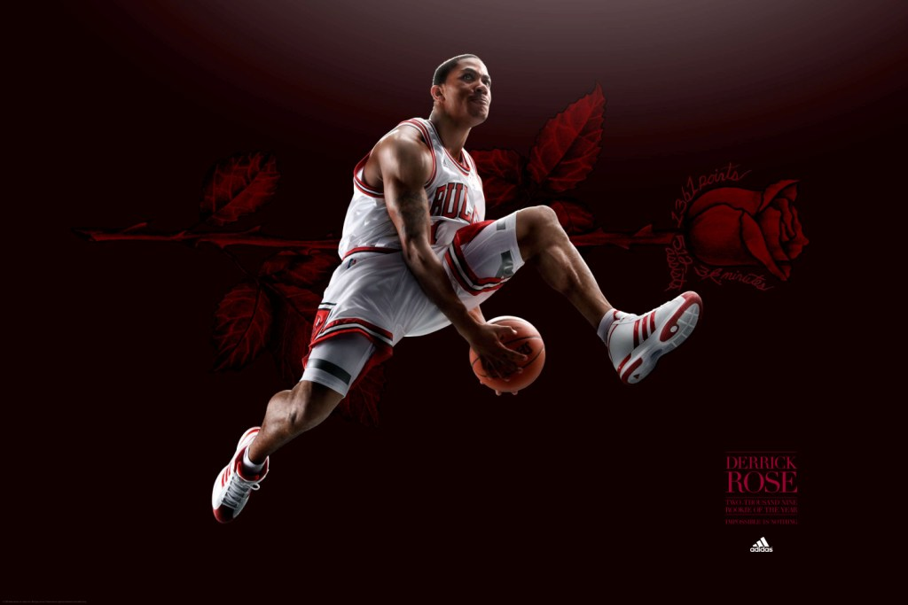 Derrick Rose basketball wallpapers NBA Wallpapers 1024x683