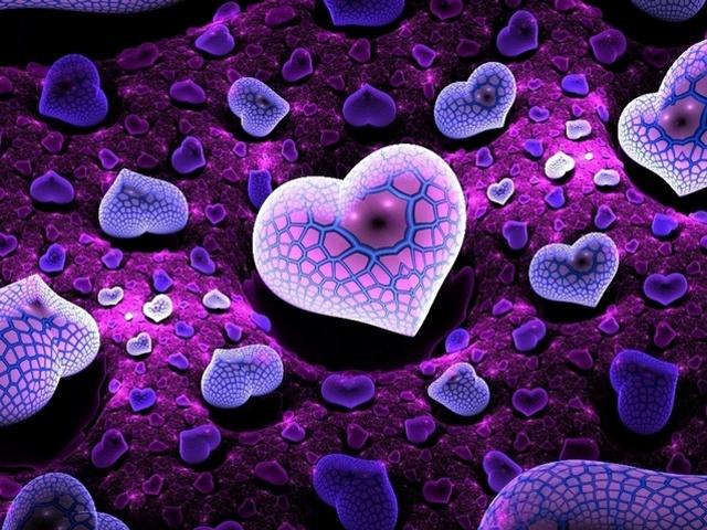 free 640X480 Purple Heart 640x480 wallpaper screensaver preview id 640x480