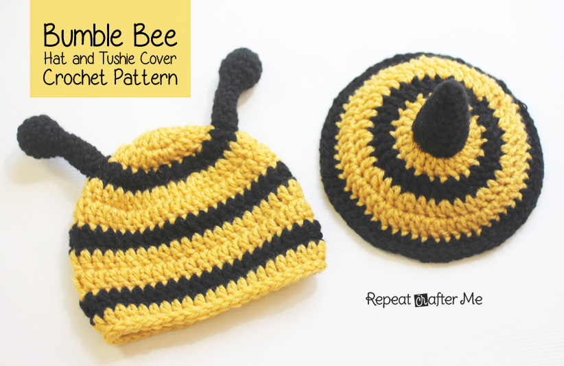 Free Download Repeat Crafter Me Crochet Bumble Bee Hat And Tushie Cover Pattern 822x533 For Your Desktop Mobile Tablet Explore 45 Bumble Bee Wallpaper Patterns Bumble Bee Wallpaper Patterns
