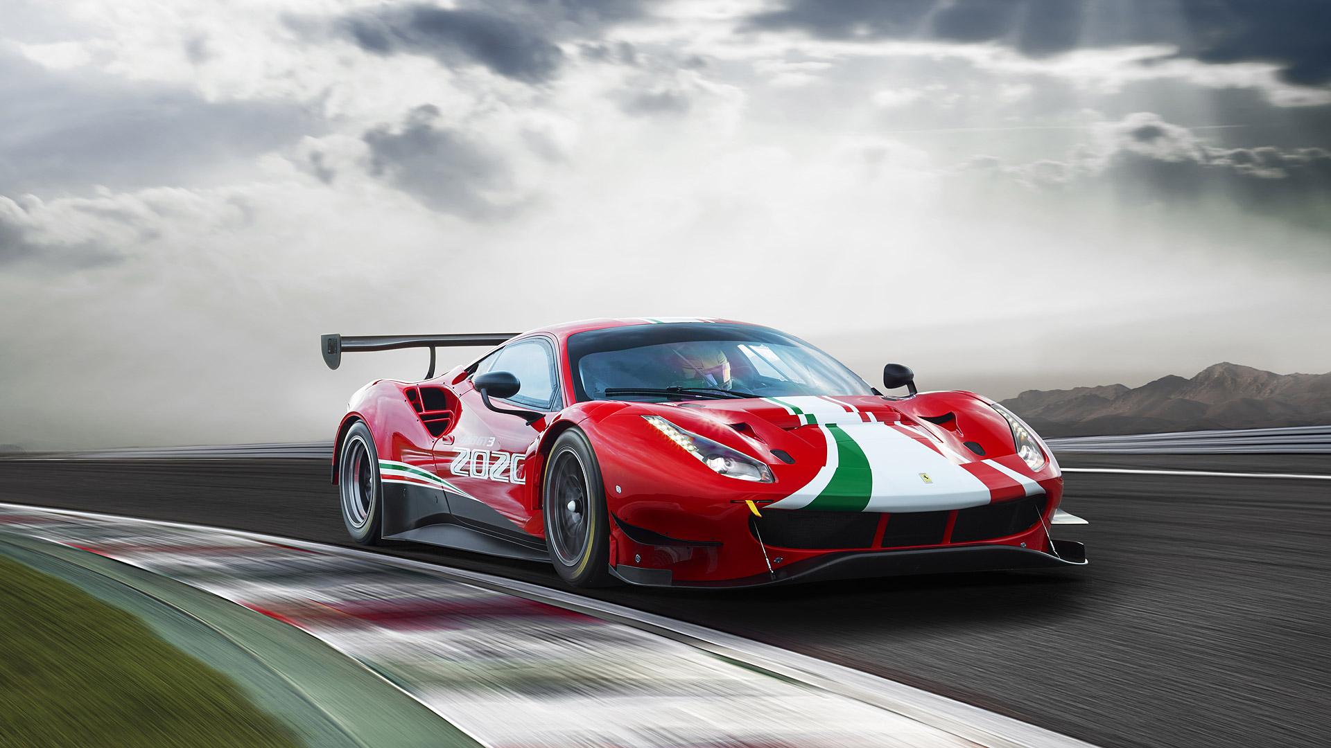 2020 Ferrari 488 GT3 Evo Wallpapers HD Images   WSupercars 1920x1080