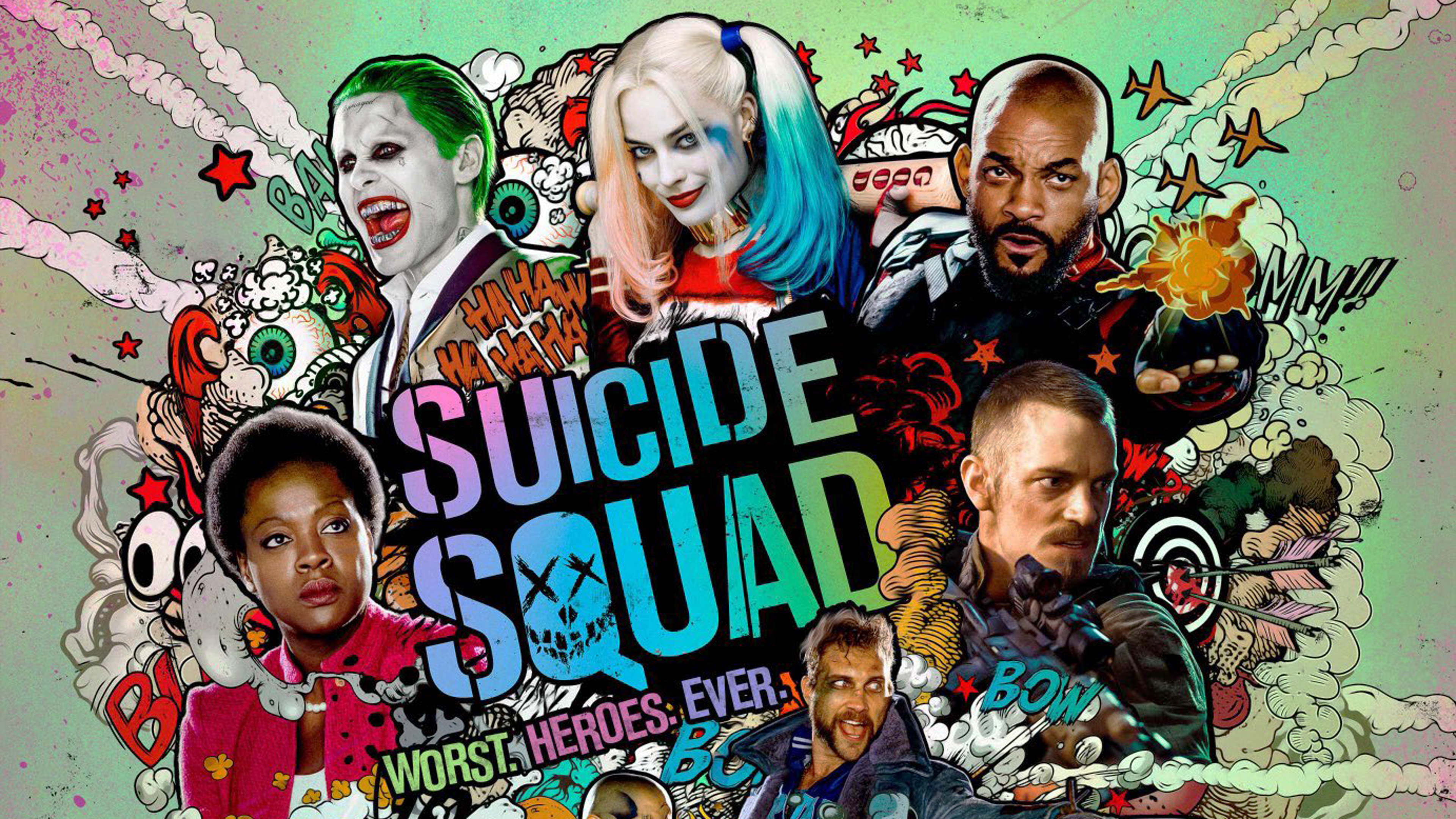 Suicide Squad Wallpaper 5   3840 X 2160 stmednet 3840x2160