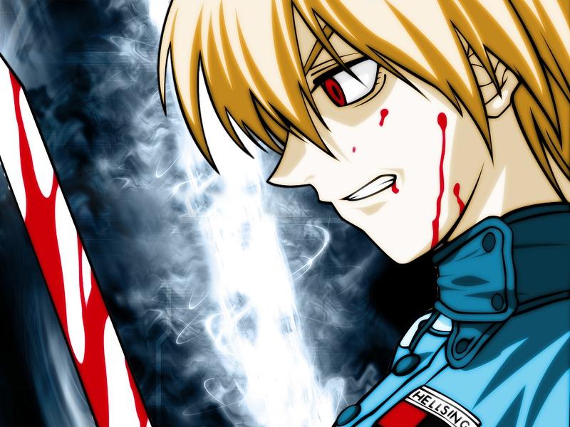 Hellsing Saras Victoria Anime Hellsing HD Desktop Wallpaper 800x600