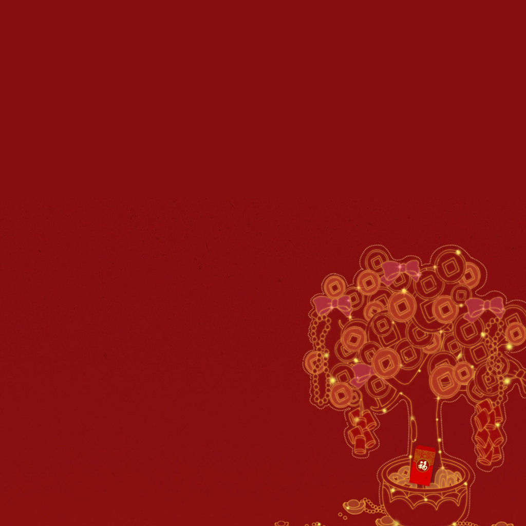 iPad Wallpapers Download Chinese New Year HD iPad 1024x1024