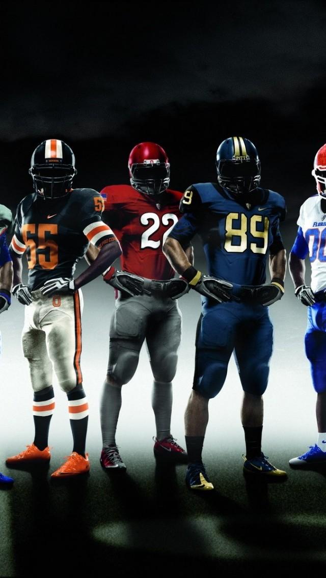 American Football Stars Wallpaper   iPhone Wallpapers 640x1136