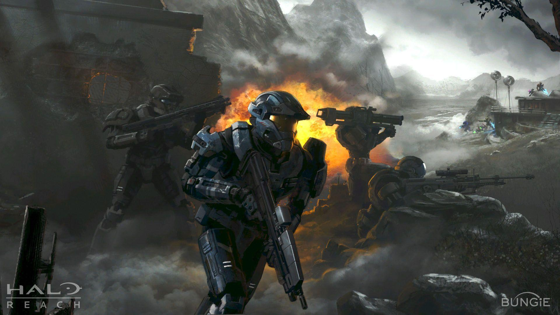 Cool Halo Backgrounds 1920x1080
