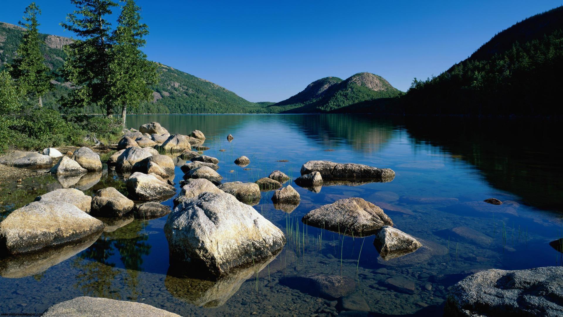 Jordan Pond Acadia National Park Maine 1920x1080