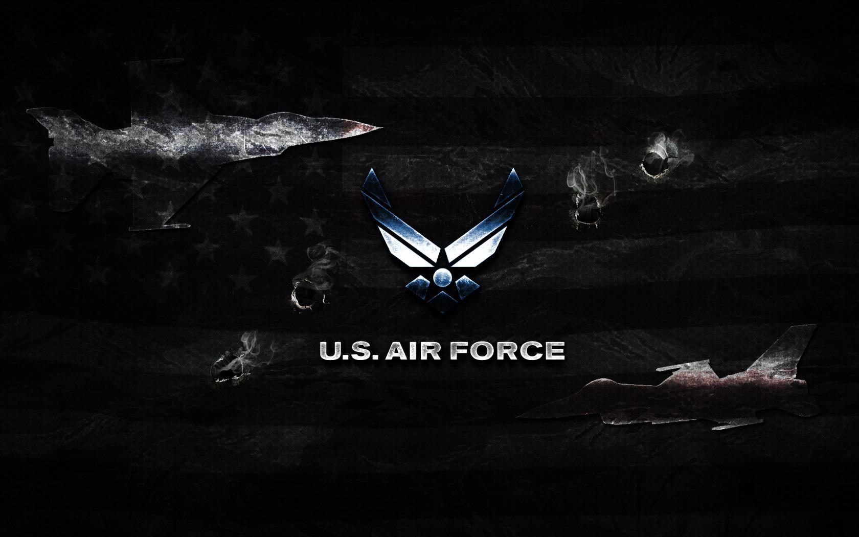 Air Force Logo Wallpaper 1680x1050