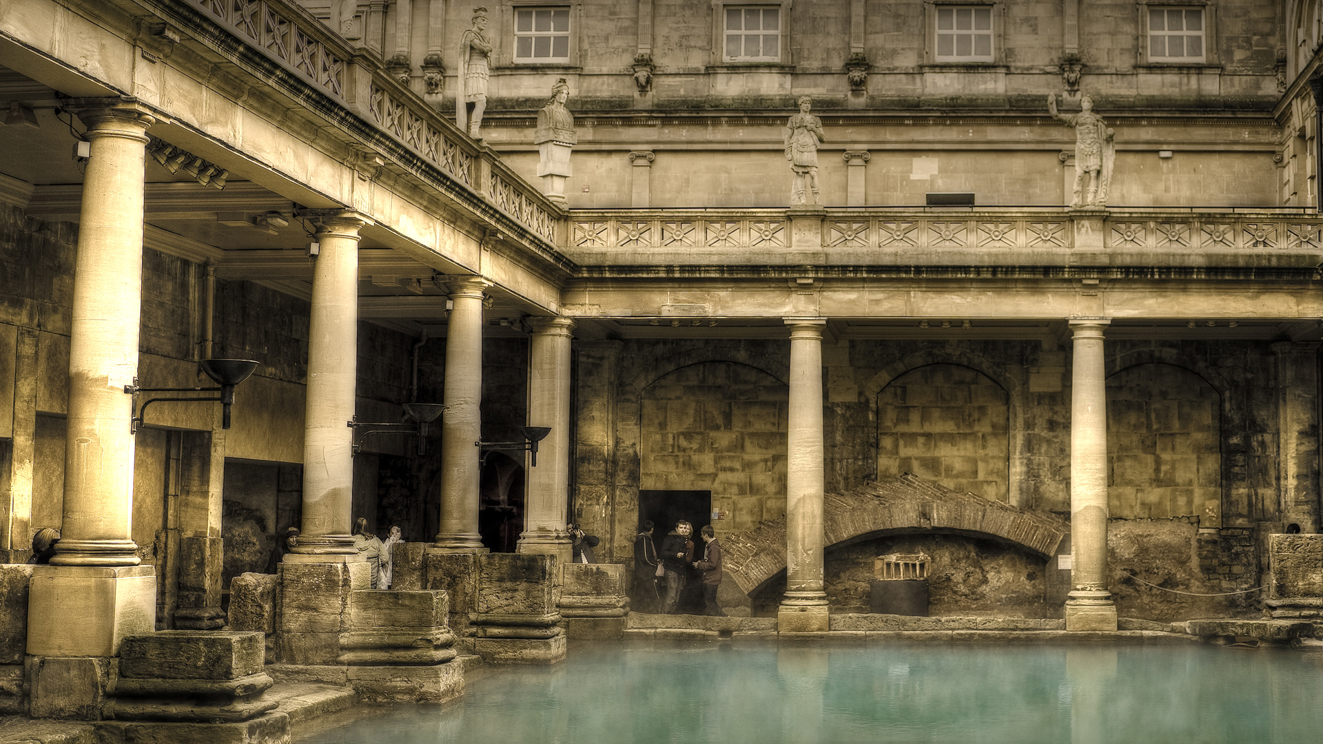 Roman Bath House Google Skins Roman Bath House Google Backgrounds 1920x1080