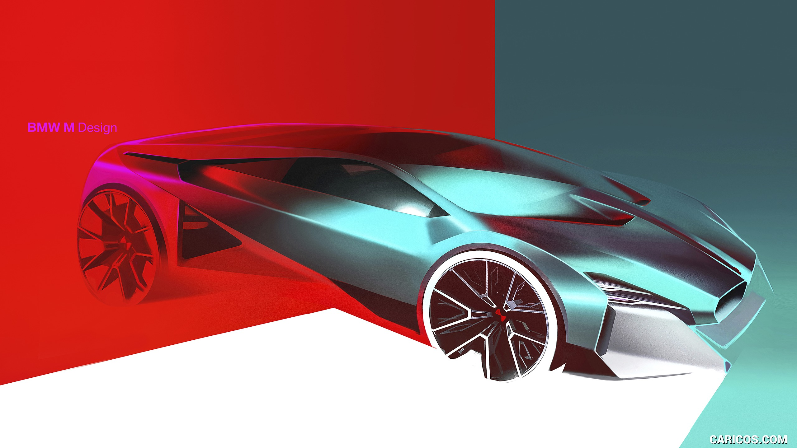 2019 BMW Vision M Next   Design Sketch HD Wallpaper 60 2560x1440